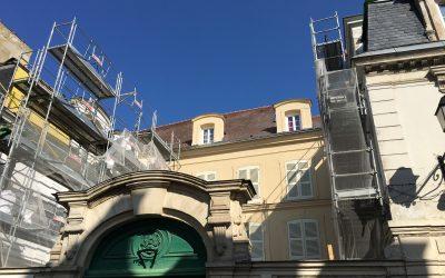 Hôtel de Macé Meaux (77) en cours de travaux